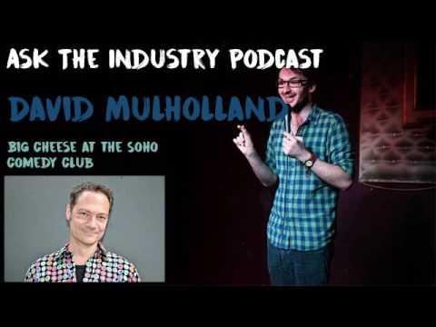 EP48 - David Mulholland - Big Cheese at the Soho Comedy Club