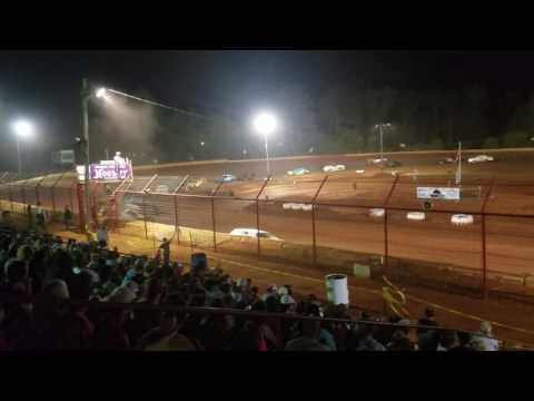 Pure Stock Feature part 1 of 2 5/29/17 Flomaton Speedway