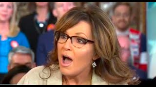 Sarah Palin Loses It When Asked About Blaming Obama for Son Beating Girlfriend