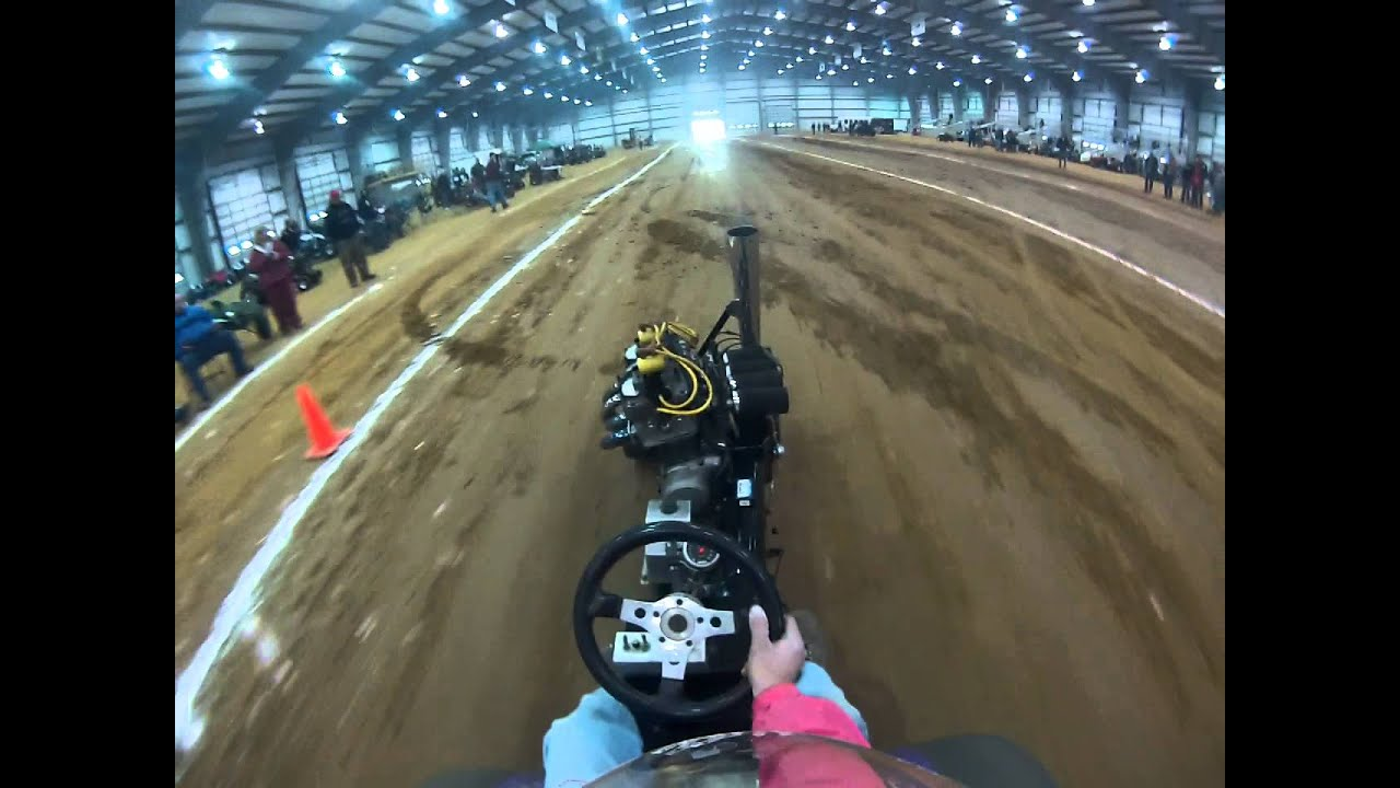Tractor Pulling Motorcycle : Motorcycle garden tractor pulling youtube