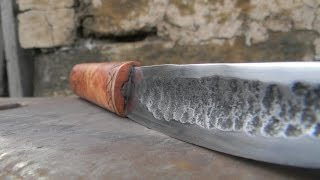 Ковка Якутского ножа
