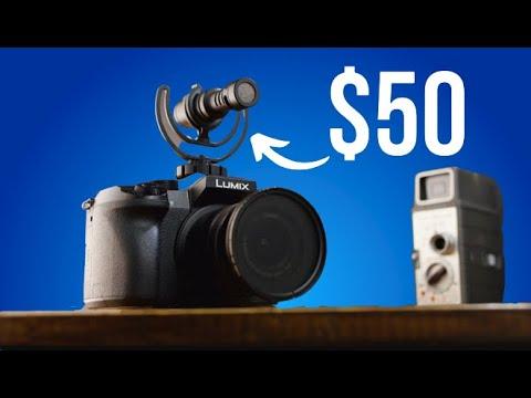 Budget Filmmaking Camera Gear Under $50