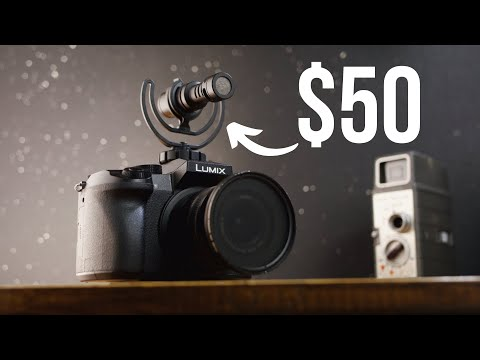 Budget Filmmaking Camera Gear Under $50