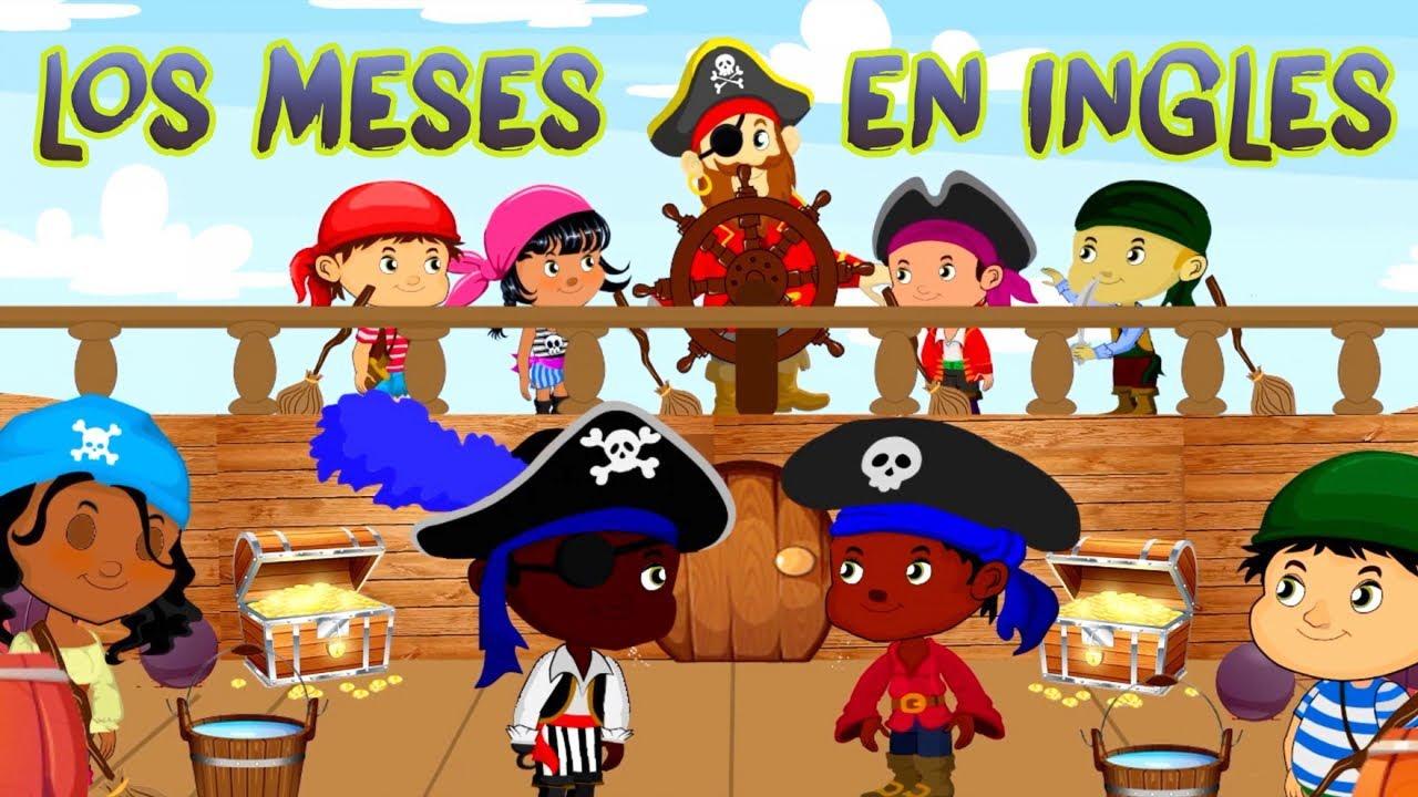 Los Meses En Ingles - Canti Rondas | Ingles Para Niños
