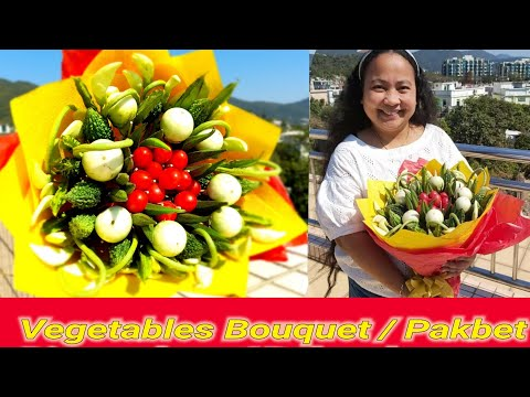 Vegetables Bouquet Pinakbet Dinengdeng Bulanglang Youtube