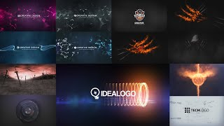 TOP 10 FREE Intro Template 2D + 3D Logo Reveal Sony Vegas Pro | #5