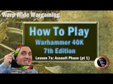 how to play warhammer 40k 7th edition