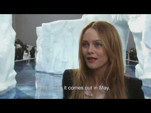 Vanessa Paradis after Chanel show interview