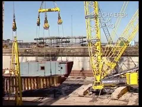 Maersk Ship Building in Denmark Part 1