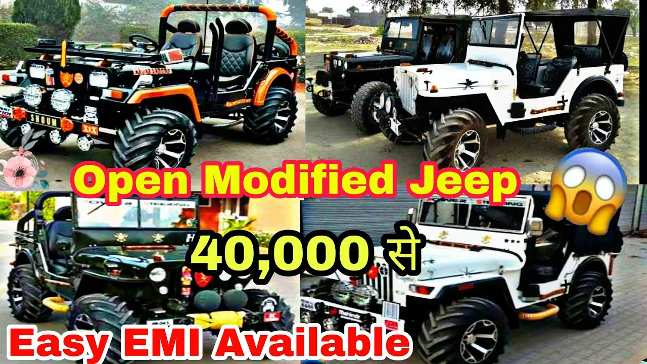 Thar Market Jeep Market In Delhi Jeep In Only 40 000 On Emi