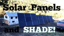 I Put My Solar Panels In The SHADE!!!