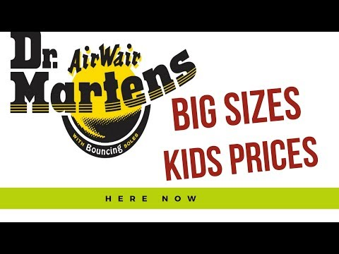 Dr Martens    Kids Prices  Adults Sizes   New To NZ YOUTHS Docs