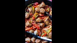Italian Sausage &amp Peppers Recipe!