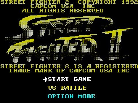 ZX Spectrum Longplay [063] Street Fighter II