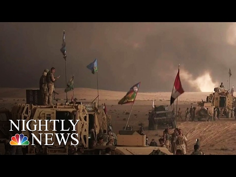 Fall Of Mosul Would Be End Of ISIS 'Caliphate' In Iraq: U.S. General | NBC Nightly News