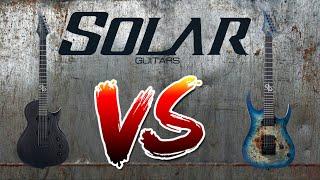 🥊🥊🥊 SOLAR GUITARS COMPARE ( Type G vs Type S ) DEMO SOUND TEST by @OSWALDOCONTRAMAESTRE