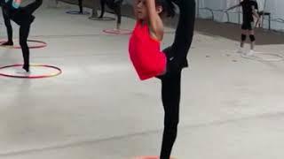 Интересное мастерство с мячом. Художественная гимнастика