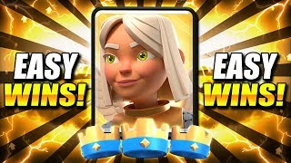 *NEW!* TOP 5 BEST TROPHY PUSHING DECKS AFTER UPDATE!! ~ EASY WINS!
