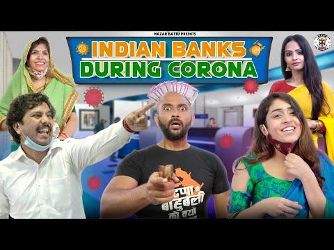 Indian Banks During Corona || NazarBattu