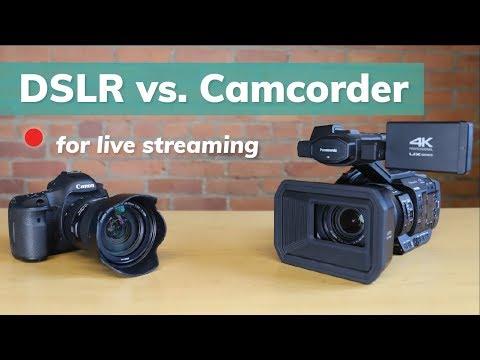 DSLR Vs. Camcorder