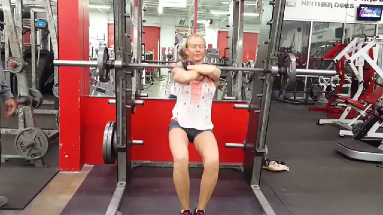 Quit Fitness Over 50yrs Young Training Legs Sissy Squats
