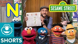 Sesame Street: N is for Newspaper with Keegan Michael Key