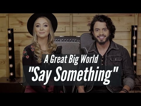 Say Something - MAR ABERTO Cover A Great Big World e Christina Aguilera