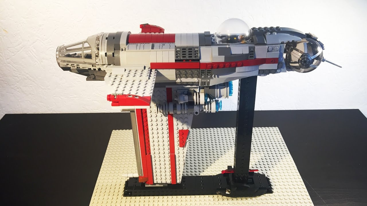 Moc/Custom Lego Resistance Bomber (75188) I JustBricks ...
