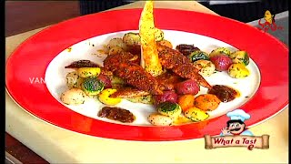 Delicious Cajun Spiced Chicken Recipe | What A Taste | Vanitha Tv
