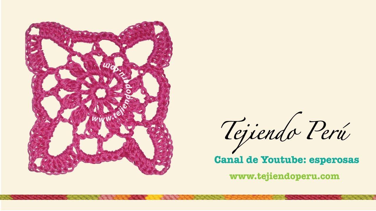 Bonito Círculo Granny Patrón De Crochet Cuadrado Colección - Ideas ...