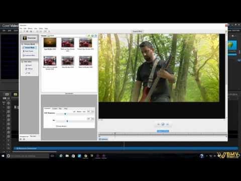 How To Edit a Metal Band Music Video using Corel VideoStudio 9 - By LORAA WHITE