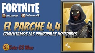 Quoi de neuf dans FORTNITE Patch 4.4 Save the World Ninja mythique, pièges en pente...