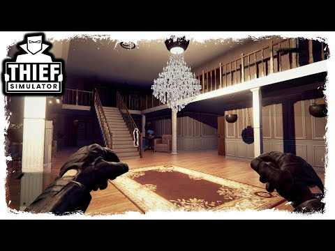 I BROKE INTO A RICH PERSONS HOUSE AND TOOK EVERYTHING THEY OWNED | Thief Simulator Ep.8