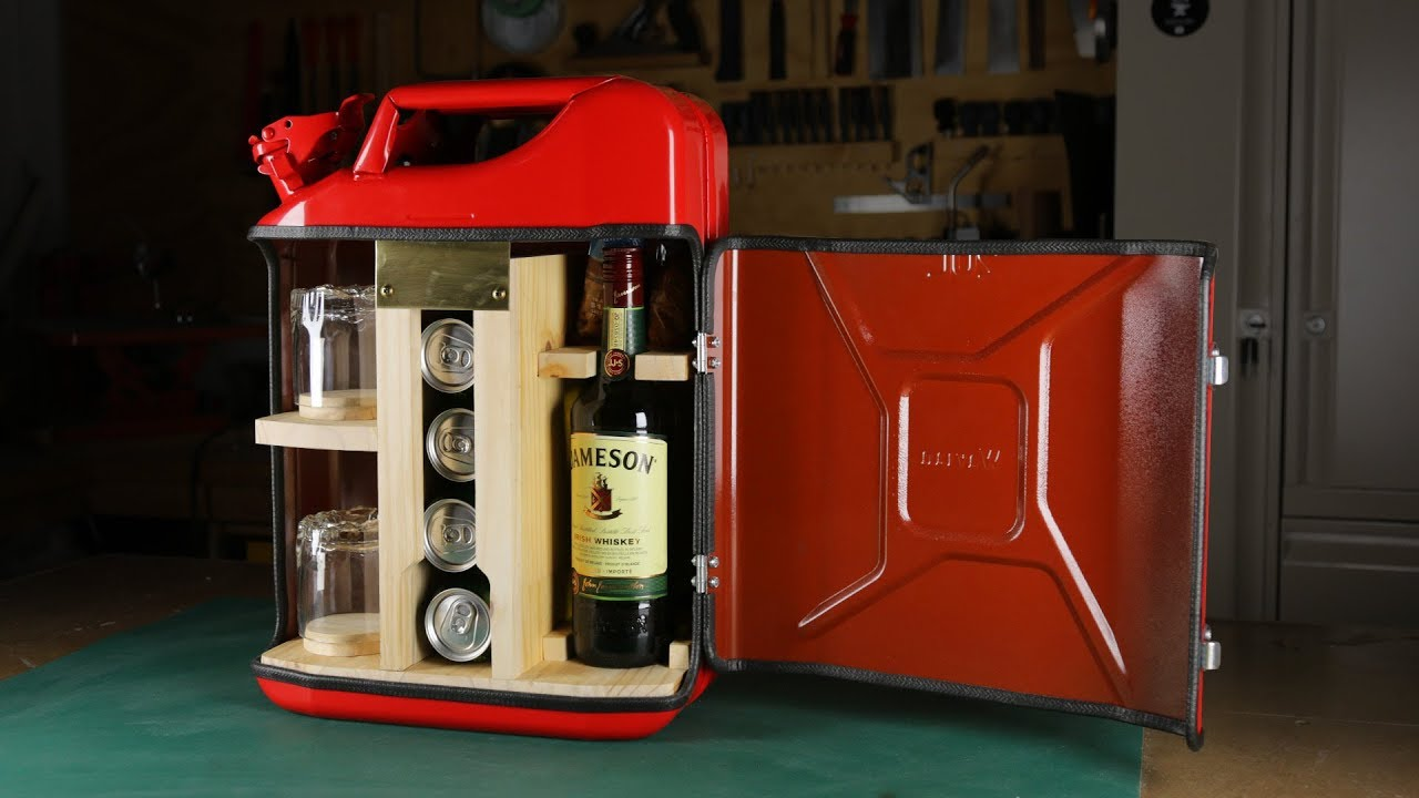 How To Make A Jerry Can Mini Bar Youtube