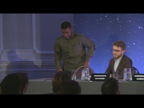 Star Wars' John Boyega: 'My voice is so sexy and deep'