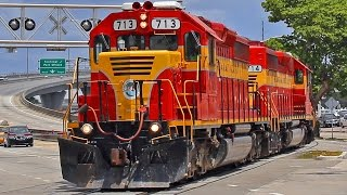 The Florida East Coast Railway. April 2016