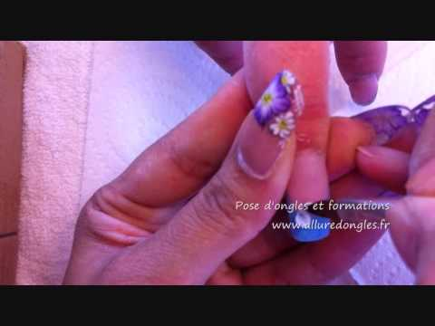 pose d ongles gel uv et d 233 coration 3d