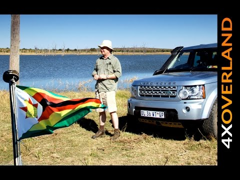ZIMBABWE. Is it safe? Part-2. Touring in a Land Rover Discovery-4.