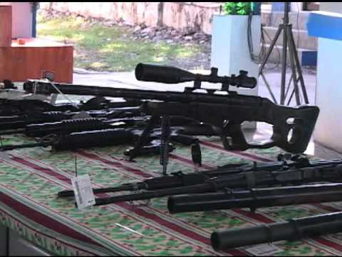 PNP demilitarizes firearms from MNLF