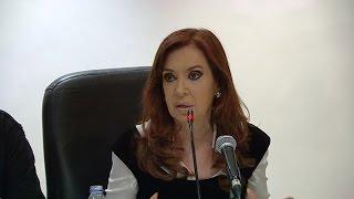 """Cristina: """"El discurso de la pesada herencia difiere con lo que le dicen a empresarios"""""""