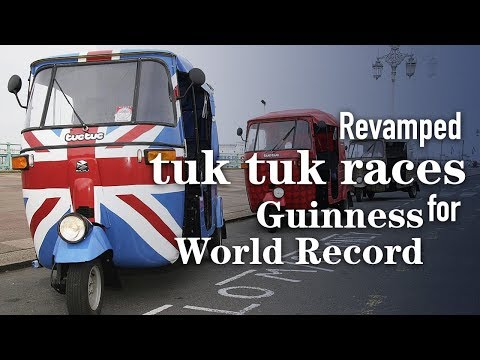 Live: UK duo challenges Guinness World Record with revamped Thai tuk tuk 英国表兄弟挑战突突车吉尼斯世界纪录