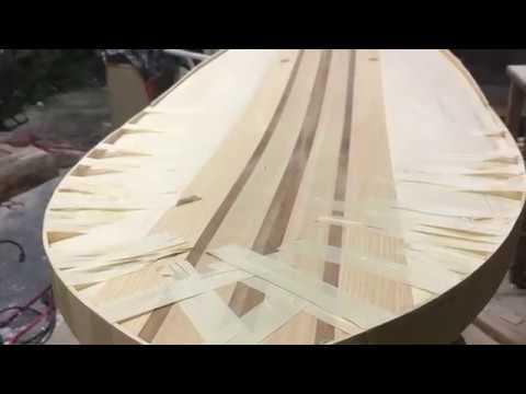 Recycled Foam Core Surfboard Build