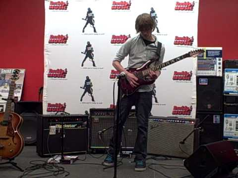 Daddys Junky Music Battle for Berklee - Contestant Brandon Ellis