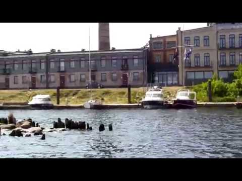 Travel Latvia 2017 Riga The Daugava River Boat Trip