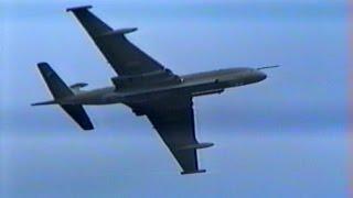RAF Nimrod flight and a crash at Toronto show