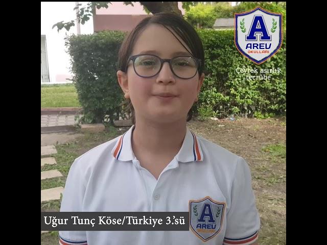 AREV Başarıya Doymuyor! Türkiye Teknoloji Takımı Şiir Yarışmasında 3. Olduk !
