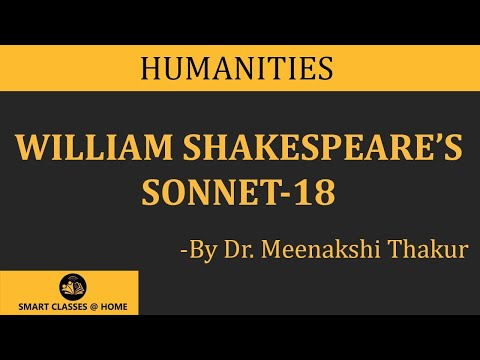 What is Sonnet 18? English Literature (Arts)BA English Guruk