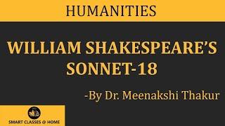 What is Sonnet 18? English Literature (Arts)BA English Gurukpo