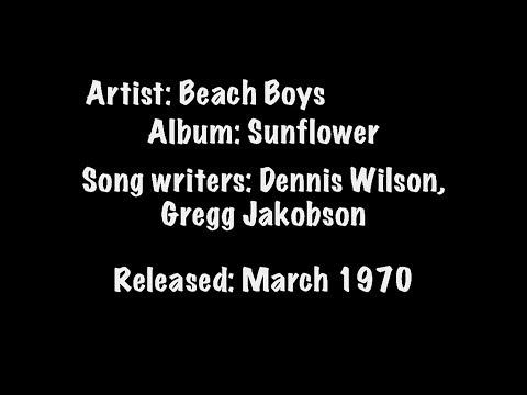 Forever Lyric Video -Beach Boys 1970