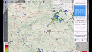 Online předpověď počasí v češtině a radary